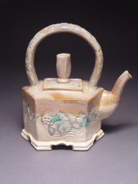cream-and-gray-teapot