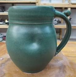 green-mug